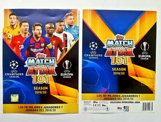 Álbum TOPPS Match Attax 101, Champions 2020