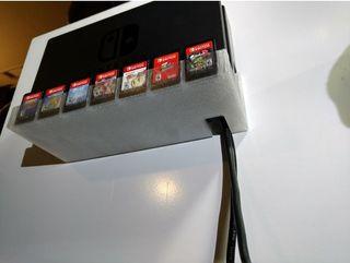 Soporte Pared Base Nintendo Switch