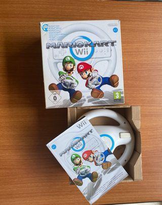 Volante Wii Mario Kart