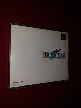 Final Fantasy VII 7 ps1 playstation psx Japon
