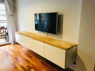 Montaje y anclaje de muebles a pared.
