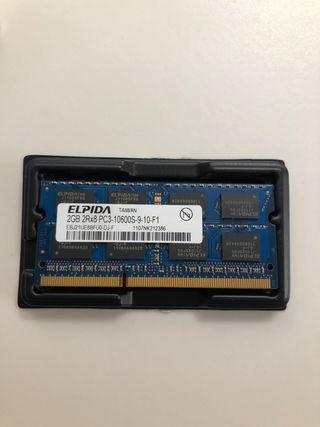 Memoria RAM para Mac 2Gb