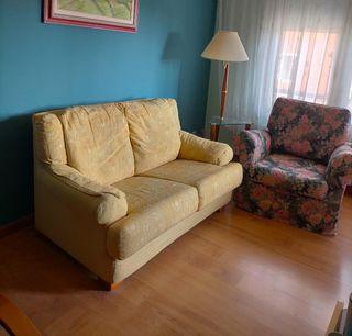 Sofá 2 plazas + sillón