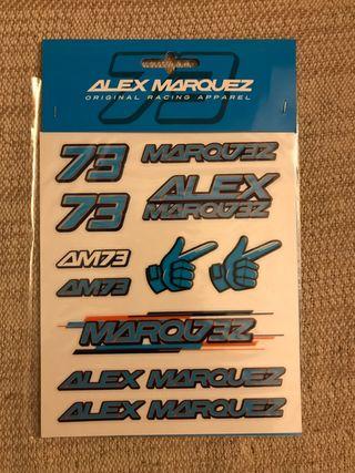 Set pegatinas Alex Marquez