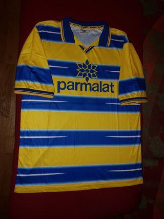 Camiseta parma A.C. 98-99 con Cannavaro 17 Lotto