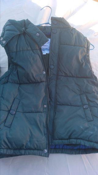 Chaleco - abrigo plumas