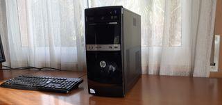 Ordenador HP Intel Dual Core 3,20Ghz+SSD 240Gb