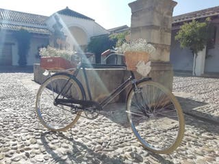 Bicicleta frenos de varilla a estrenar