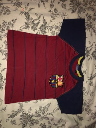 camiseta barça talla 2 años