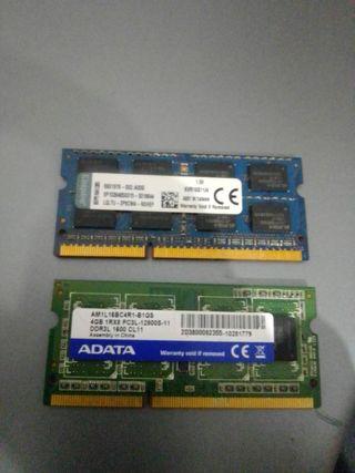 TARJETAS MEMORIA RAM 8GB