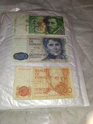 lote pesetas