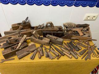 Lote de herramientas de carpintero 100 años