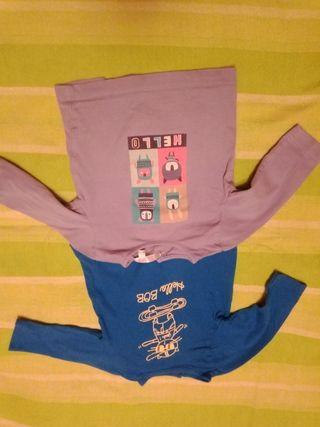 2 camisetas de niño