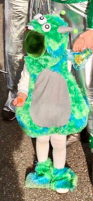 Disfraz monstruo talla 1-2 años