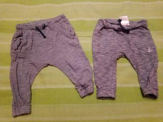 2 pantalones H&M