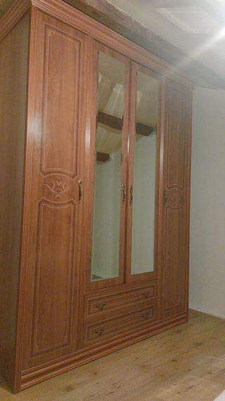 Habitacion de matrimonio y armario