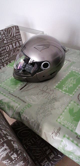 Casco integral/jet LEM titanio XL