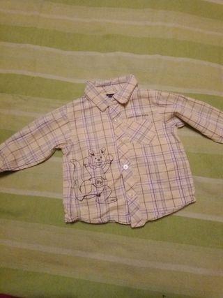 camisa 6meses