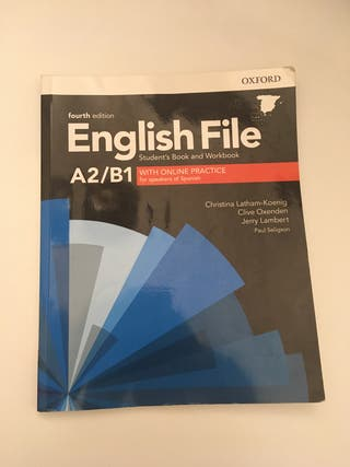 Libros Ingles A2/B1 Oxford EOI