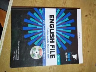 Libro inglés ENGLISH FILE A2