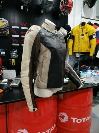 chaqueta dainese piel chica 44