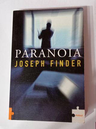 """Libro """"Paranoia"""" de Joseph Finder"""