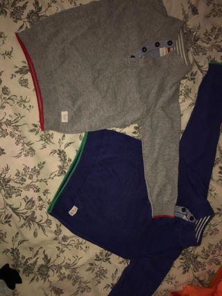 2 jerseys zara niño 2-4 años