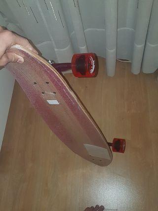 longboard tijuana nuevo rojo. longboard carver