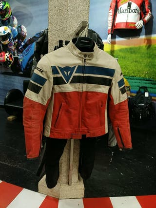 chaqueta dainese piel chica 42