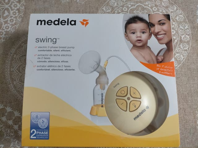 Sacaleches Medela Swing.