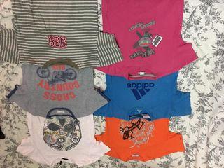 camisetas niño 6 años