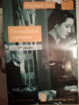 libro Gestualidad Japonesa/ Japanese Gestures