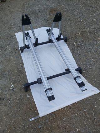 Portabicicletas de Techo para Vehículo Soporte par