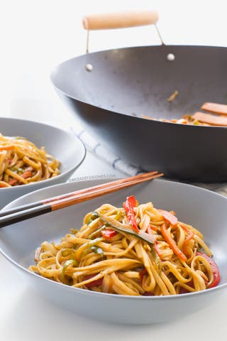 Clase magistral de cocina China a domicilio