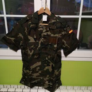 camisola ejército español