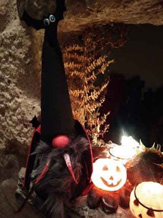 Halloween Gnomo Drácula