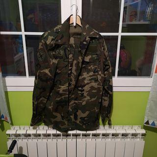 traje completo ejército español