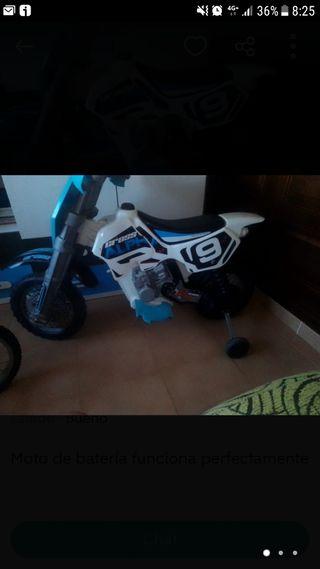 Moto batería