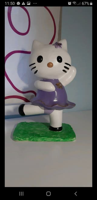 Figura de escayola Hello kitty