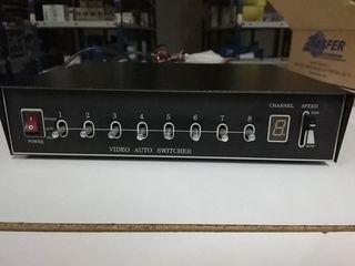 Secuenciador 8 canales video analogicos