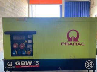 Generador pramac gbw 15