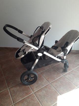carrito gemelar baby jooger city selec