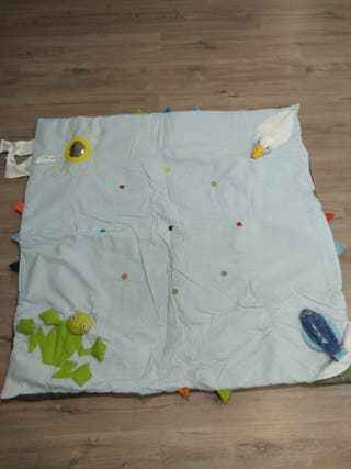 alfombra-manta bebe sensorial