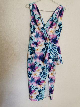 vestido de flores para bodas, comuniones, bautizo