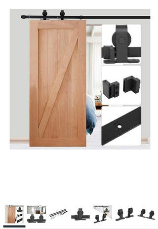 Guía/Herraje puerta corredera