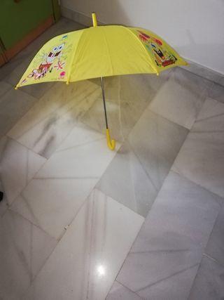paraguas Bob esponja infantil