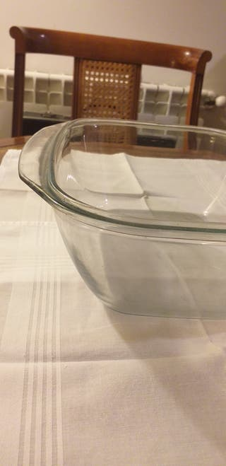 Fuente de cristal Vintage