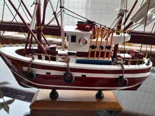 Barco de pesca (Decoracion)