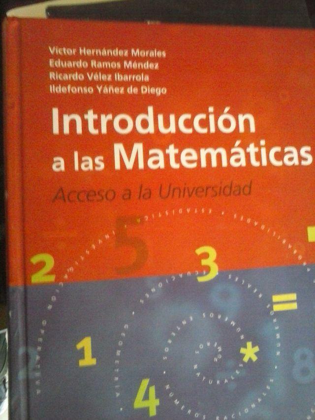 Introducción las matemáticas.