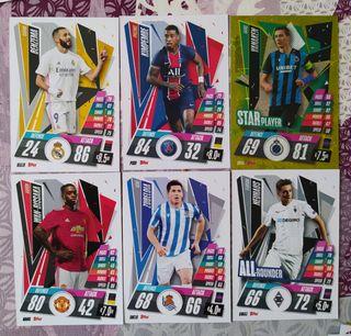 cromos futbol champions league